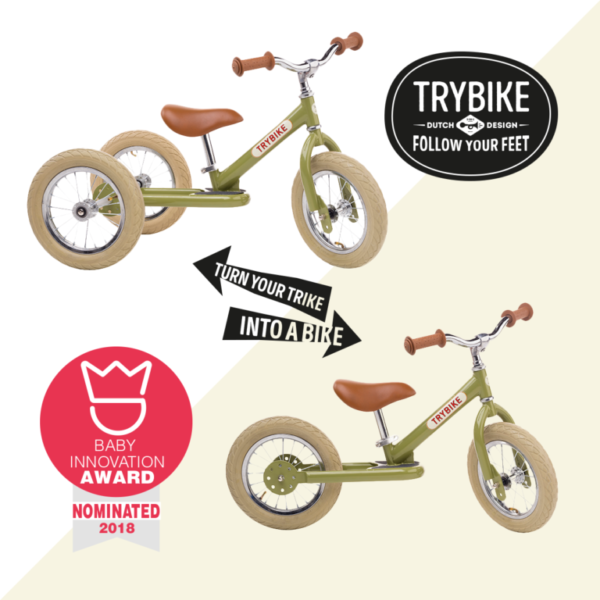 Trybike convertible Tricycle/Draisienne